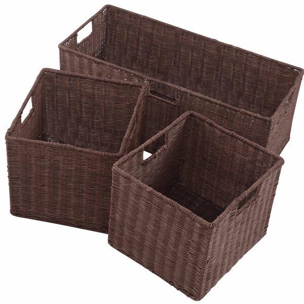 Gracie Oaks Storage Nesting Cube 3