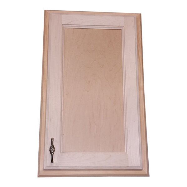 Christopher 15 W x 25 H Recessed Cabinet by WG Wood Products