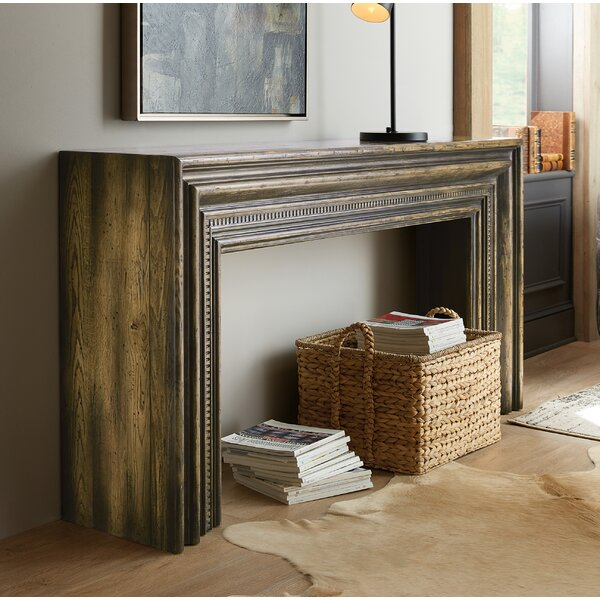 Crafted Hall Console Table By Hooker Furniture