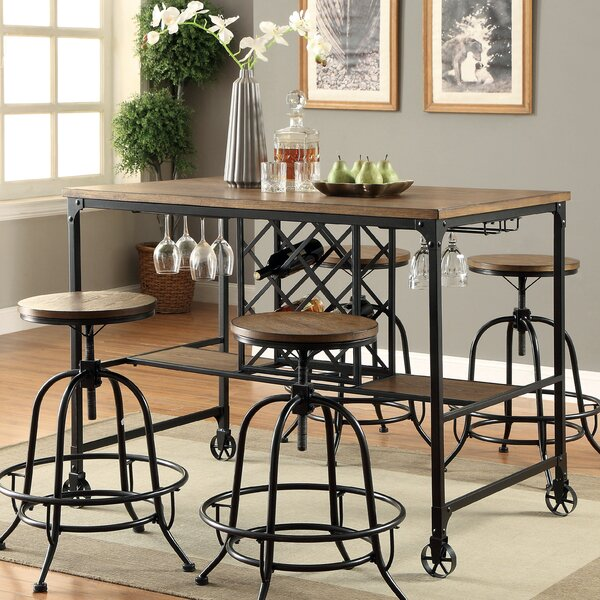 Colston Counter Height Pub Table by 17 Stories