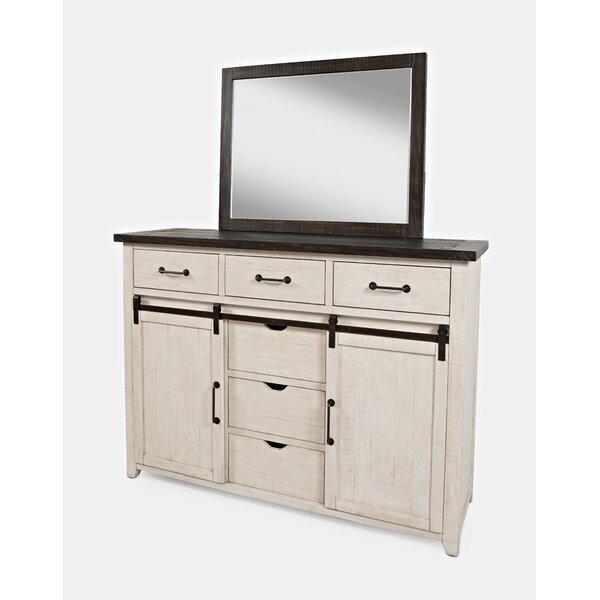 Westhoff 6 Drawer Combo Dresser by Gracie Oaks