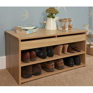 8 pair shoe storage cabinet