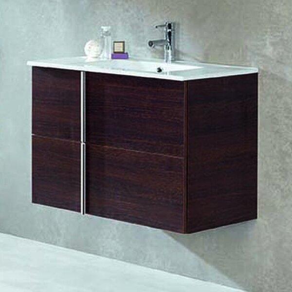 Lovins 24 Wall-MountedSingle Bathroom Vanity Set