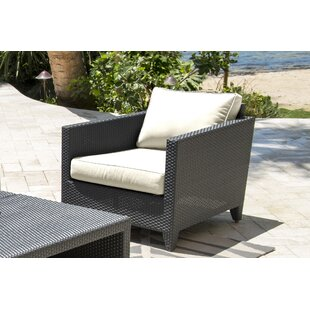 Onyx Patio Chair with Cushion By Panama Jack Outdoor