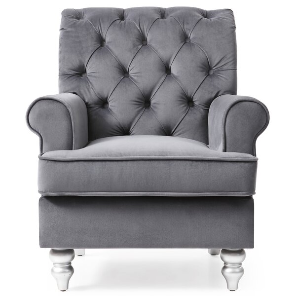 Sellars Upholstered Chesterfield Chair By House Of Hampton