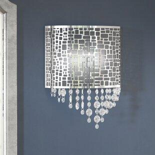 Reviews Jasper 1-Light Wall Sconce By Willa Arlo Interiors