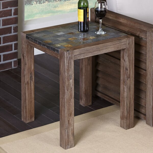 Lakewood  End Table by Millwood Pines