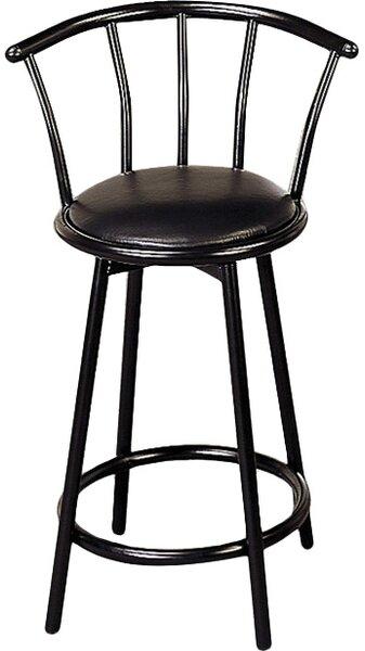 24 Swivel Bar Stool (Set of 2) by Wildon Home ®