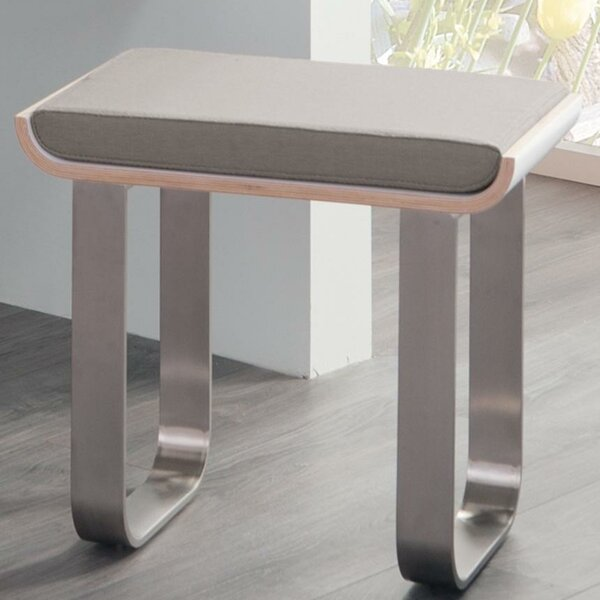 Unity Vanity Stool with Cushion by Ronbow