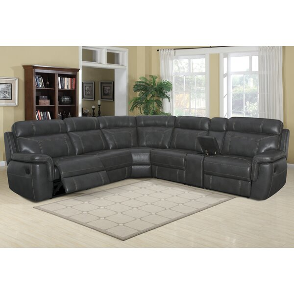 Escobedo Left Hand Facing Reclining Sectional by Darby Home Co