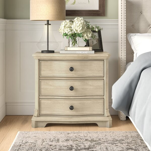 Vaucluse 3 Drawer Bachelors Chest By Feminine French Country by Feminine French Country Savings