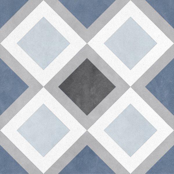 Design 9 x 9 Porcelain Field Tile in Sketch by Emser Tile