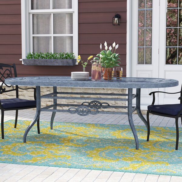 Vandyne Metal Dining Table by Darby Home Co
