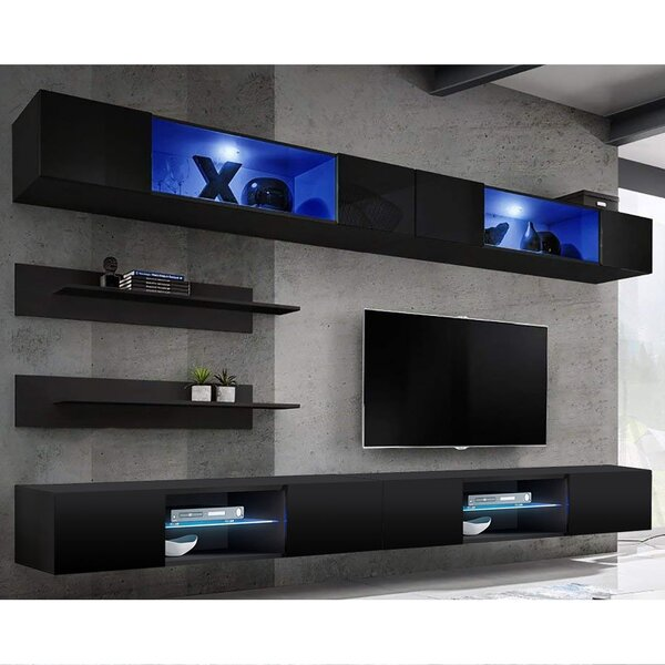 Lizotte Floating Entertainment Center For TVs Up To 70
