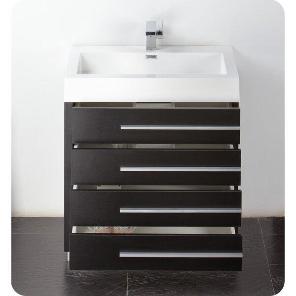 Senza 30 Single Livello Modern Bathroom Vanity Set by Fresca