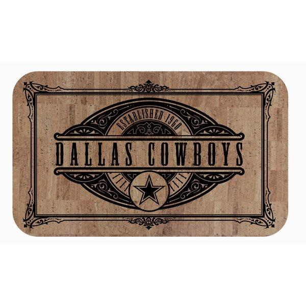 Dallas NFL Cowboys Cork Comfort Anti-Fatigue Mat