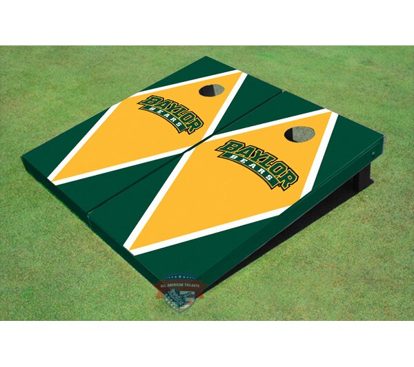 NCAA Matching Diamond Cornhole Board (Set of 2) by All American Tailgate