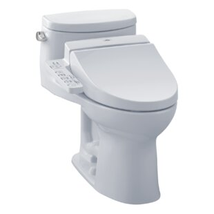 Look for Supreme 1.28 GPF (Water Efficient) Elongated One-Piece Toilet (Seat Included) By Toto