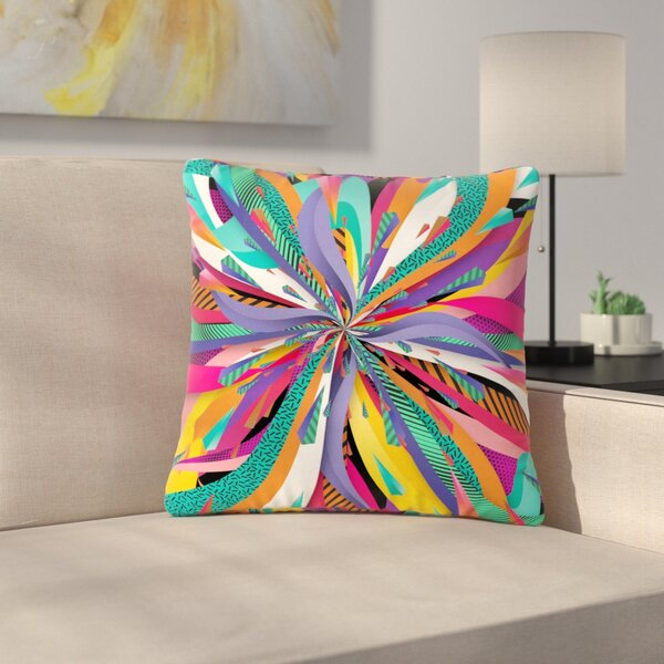 Danny Ivan Pop Abstract Outdoor Throw Pillow by East Urban Home