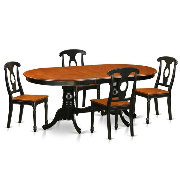 Pilcher Modern 5 Piece Dining Set by August Grove
