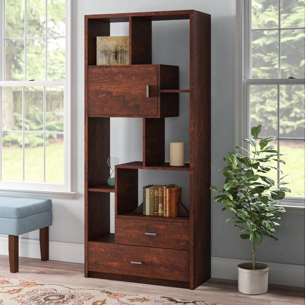Aitana Geometric Bookcase By Winston Porter