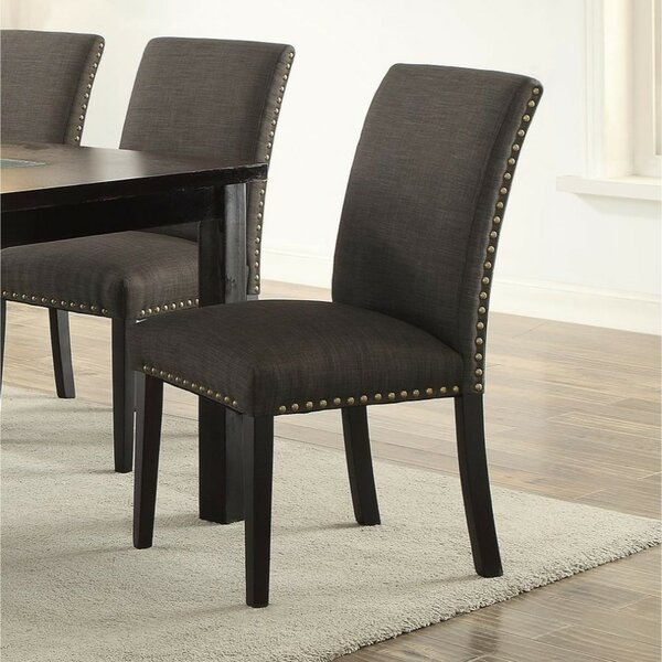 Roudebush Wooden Upholstered Dining Chair (Set of 2) by Charlton Home