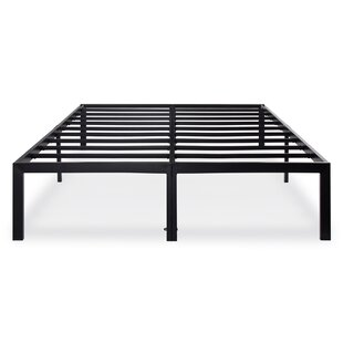 Dura Metal Steel Slate Bed Frame by Alwyn Home