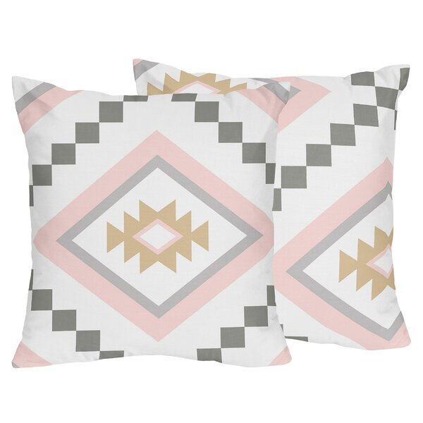 Aztec Decorative Throw Pillows (Set of 2) by Sweet Jojo Designs