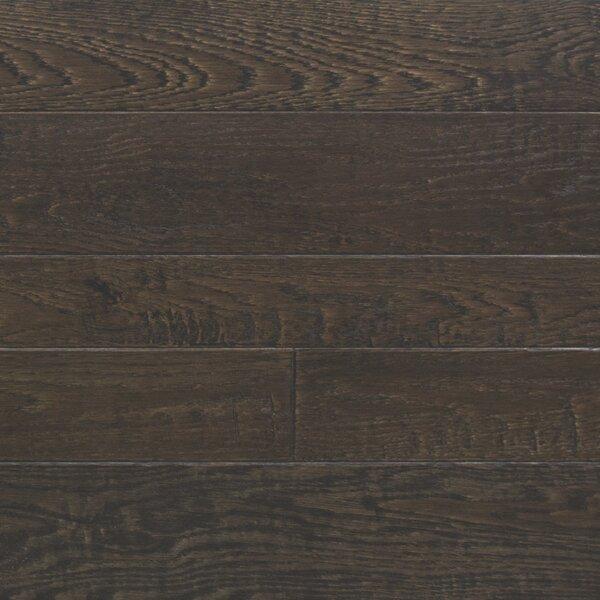 Random Width Engineered Oak Hardwood Flooring in Royal Brown by Somerset Floors
