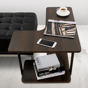 Marius 2-Tier Couch L-Shape End Table by Symple Stuff