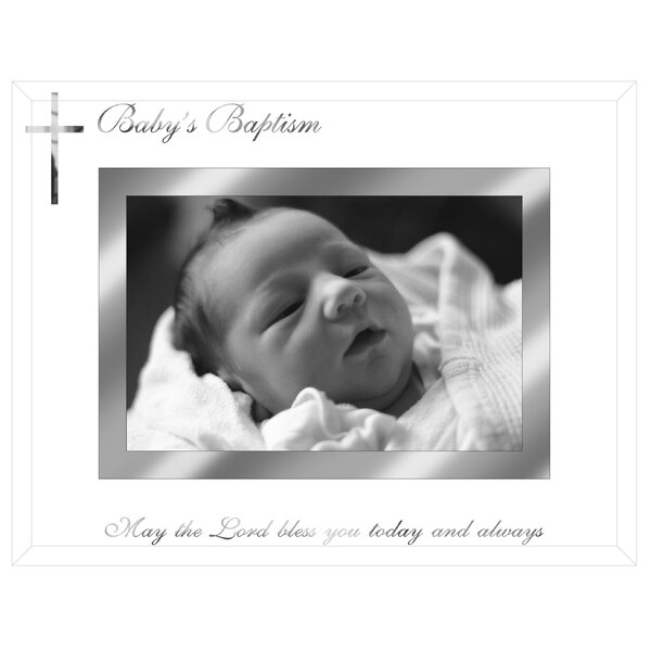 Baby Baptism Picture Frame by Malden