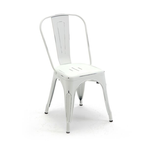 Stacking Patio Dining Chair by Belleze