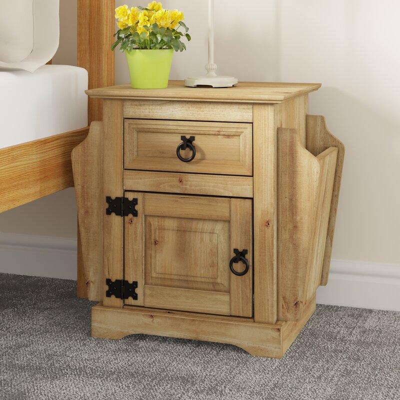 m hlenhaus nachttisch corona mit schublade bewertungen. Black Bedroom Furniture Sets. Home Design Ideas