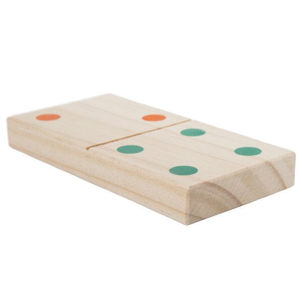 29-Piece Giant Dominoes Set by Trademark Games