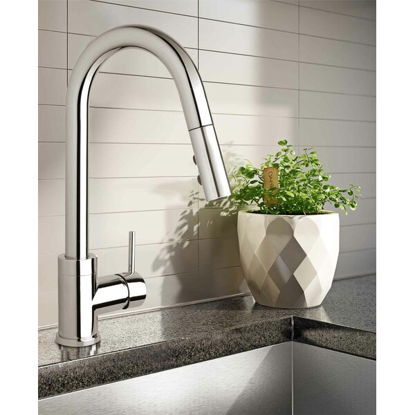 Belanger Slim Pull Down Single Handle Kitchen Faucet by Keeney Manufacturing Company Keeney Manufacturing Company
