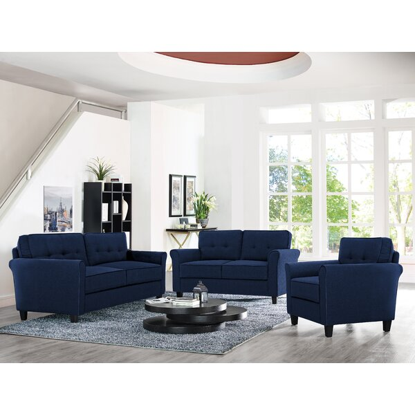 #2 Hailey Configurable Living Room Set By Charlton Home 2019 Coupon