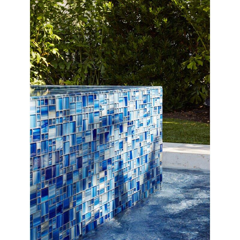 Modular Random Sized Gl Mosaic Tile