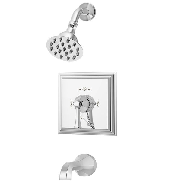 Canterbury Tub and Shower Trim with Lever Handle by Symmons