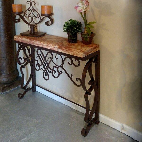 Fleur De Lis Living Brown Console Tables