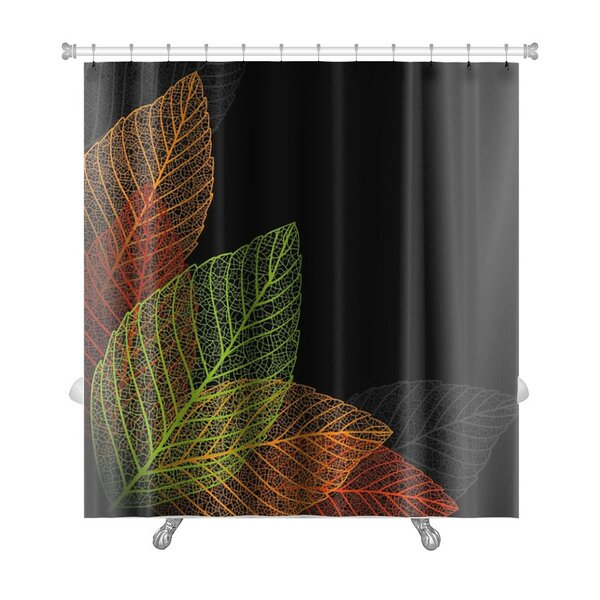 Leaves Skeleton Leaf Premium Shower Curtain by Gear New