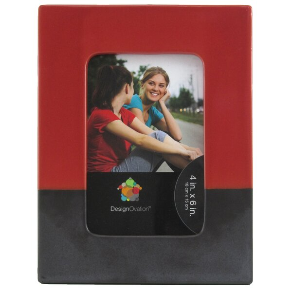Edith Ceramic Picture Frame by Uniek