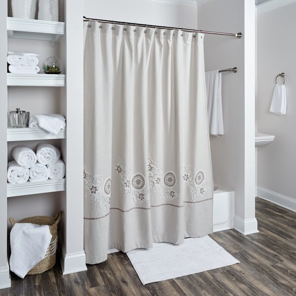 Lockerbie Cotton Shower Curtain by Darby Home Co