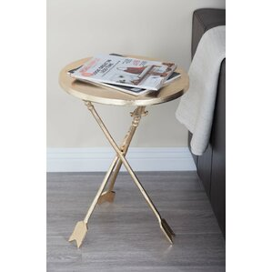 Aluminum End Table by Cole & Grey