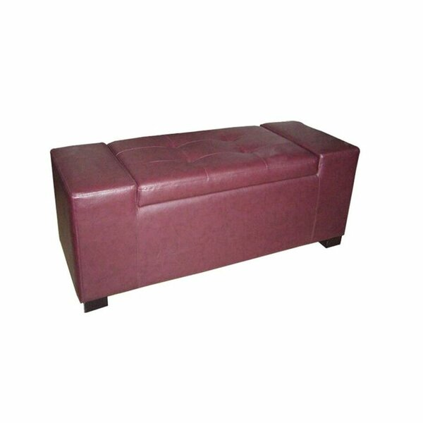 Ftenelle Faux Leather Storage Bench
