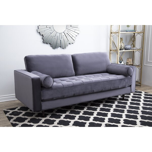 Leela Tufted Velvet Sofa by Mercer41