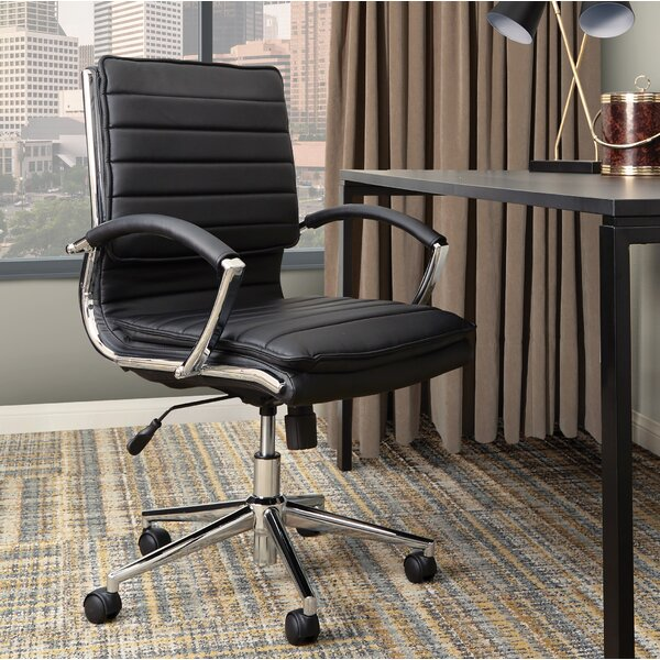 Jacobus Mid Back Executive Chair by Orren Ellis
