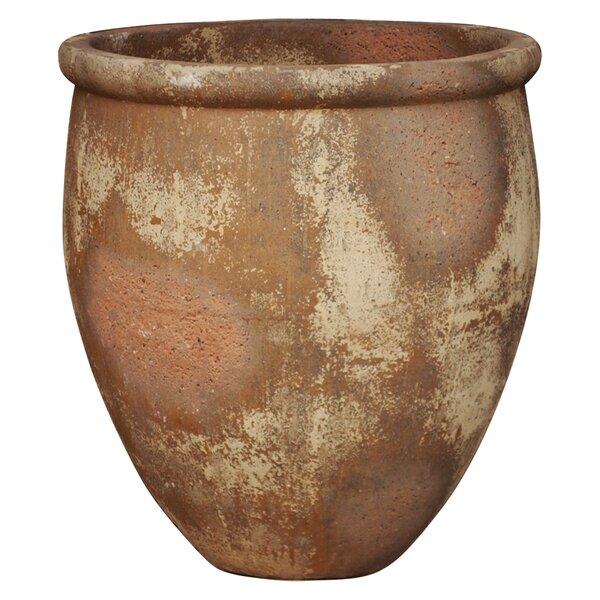 Crowther Over Size Ceramic Pot Planter by Fleur De Lis Living