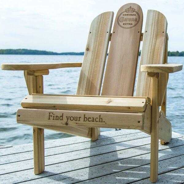 Solid Wood Adirondack Chair by Corona