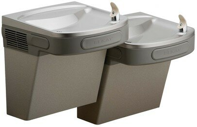 ADA Barrier Free Bi-Level Drinking Fountain by Elkay
