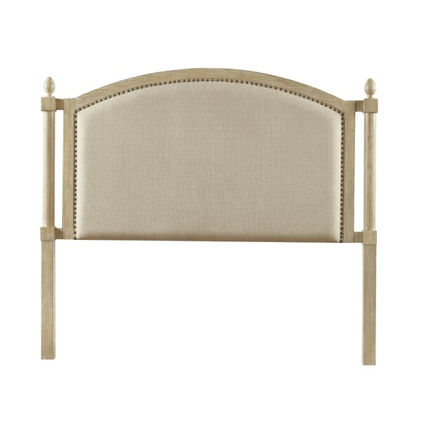 Abraham Queen Upholstered Panel Headboard by One Allium Way